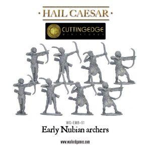 Warlord Games Hail Caesar  Bronze Age Egyptian Nubian Archers - WGH-CEM-24 -