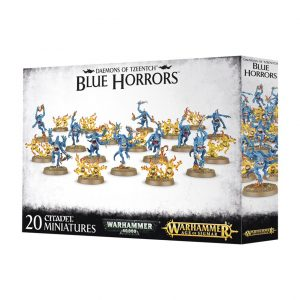 Games Workshop Warhammer 40,000 | Age of Sigmar  Disciples of Tzeentch Blue Horrors & Brimstone Horrors - 99129915029 - 5011921077311