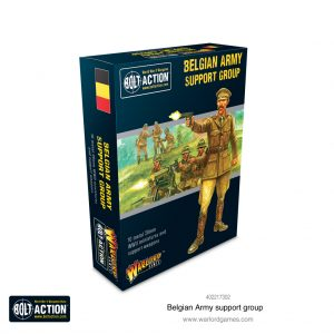 Warlord Games Bolt Action  Belgian Army (BA) Belgian Army support group - 402217302 -