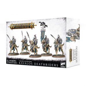 Games Workshop Age of Sigmar  Ossiarch Bonereapers Ossiarch Bonereapers Kavalos Deathriders - 99120207077 - 5011921126323