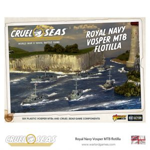 Warlord Games Cruel Seas  Cruel Seas Cruel Seas: Royal Navy Vosper MTB flotilla - 782011001 - 5060572501843