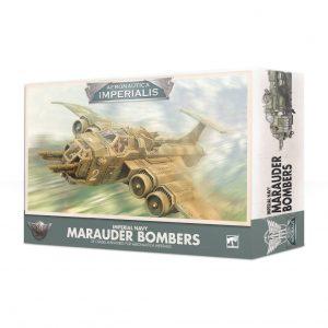Games Workshop Aeronautica Imperialis  Aeronautica Imperialis Aeronautica Imperialis: Imperial Navy Marauder Bombers - 99121808002 - 5011921124053