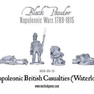Warlord Games Black Powder  British (Napoleonic) British Casualties (Waterloo) - WGN-BR-36 - 5060393700746