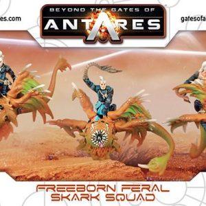 Warlord Games Beyond the Gates of Antares  Freeborn Freeborn Skark Squad - 502214001 - 5060393705949