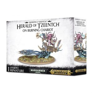 Games Workshop Warhammer 40,000 | Age of Sigmar  Disciples of Tzeentch Herald of Tzeentch on Burning Chariot - 99129915030 - 5011921077328