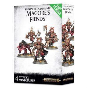 Games Workshop (Direct) Age of Sigmar  Blades of Khorne Khorne Bloodbound Magore's Fiends - 99120201075 - 5011921096091