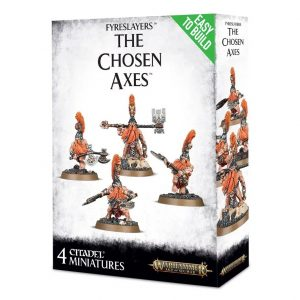Games Workshop (Direct) Age of Sigmar  Fyreslayers Fyreslayers The Chosen Axes - 99120205032 - 5011921096107