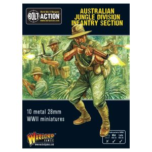 Warlord Games Bolt Action  Australia (BA) Australian Jungle Division Infantry Section (Pacific) - 402215001 - 5060393707387