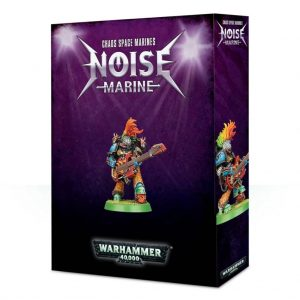 Games Workshop Warhammer 40,000  Chaos Space Marines Chaos Noise Marine - 99120102086 - 5011921107865