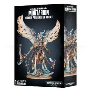 Games Workshop Warhammer 40,000  Death Guard Mortarion, Daemon Primarch of Nurgle - 99120102129 - 5011921153589