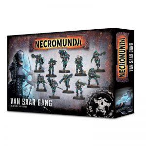 Games Workshop Necromunda  Necromunda Necromunda: Van Saar Gang - 99120599006 - 5011921107742