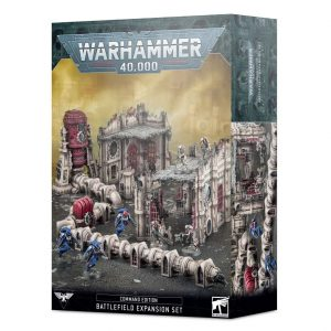 Games Workshop Warhammer 40,000  Warhammer 40000 Essentials Command Edition Battlefield Expansion - 99120199075 - 5011921144129
