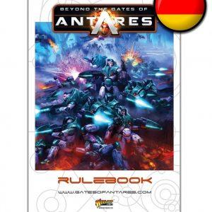 Warlord Games Beyond the Gates of Antares  Antares Essentials Beyond the Gates of Antares Rulebook (German) - WGA-05 - 9780993058943