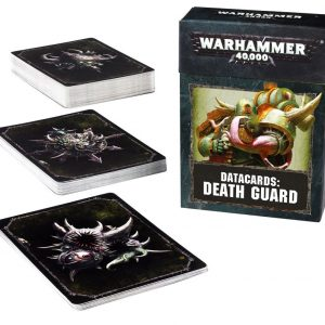Games Workshop Warhammer 40,000  Death Guard Datacards: Death Guard - 60220102005 - 5011921089260
