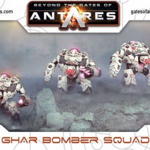 Warlord Games Beyond the Gates of Antares  Ghar Empire Ghar Bomber Squad (plastic) - WGA-GAR-05 - 5060393702535