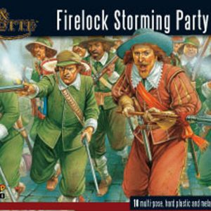 Warlord Games Pike & Shotte  Thirty Years War 1618-1648 Firelock Storming Party plastic boxed set - WGP-03 - 5060200840023