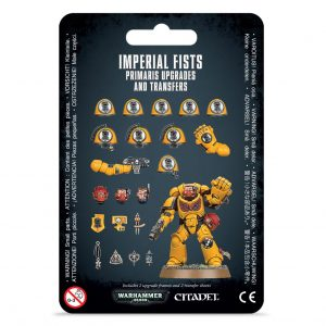 Games Workshop Warhammer 40,000  Imperial Fists Imperial Fists Primaris Upgrades & Transfers - 99070101075 - 5011921155170