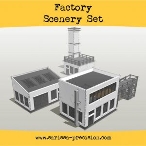 Warlord Games   Sarissa Precision Factory Scenery Set - i010 - 5060572504257