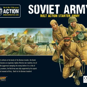 Warlord Games Bolt Action  Bolt Action Essentials Soviet Starter Army - 402614001 - 5060393708698