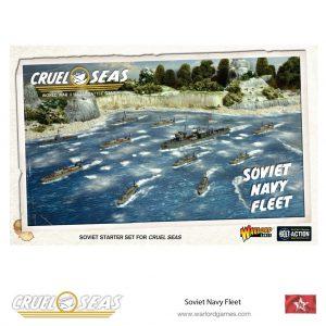 Warlord Games Cruel Seas  Cruel Seas Cruel Seas: Soviet Navy Fleet - 782611003 - 5060393709718
