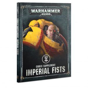 Games Workshop Warhammer 40,000  Imperial Fists Codex Supplement: Imperial Fists - 60030101047 - 9781788266727