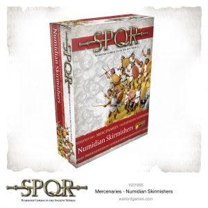 Warlord Games SPQR  SPQR SPQR: Numidian Skirmishers - 152219005 -