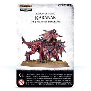Games Workshop Warhammer 40,000 | Age of Sigmar  Blades of Khorne Karanak, The Hound of Vengeance - 99079915006 - 5011921113187
