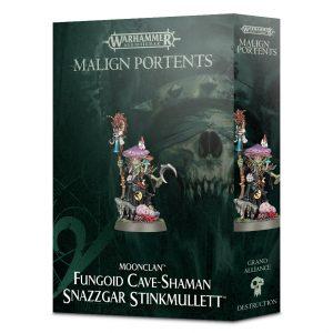 Games Workshop Age of Sigmar  Gloomspite Gitz Fungoid Cave-Shaman Snazzgar Stinkmullett - 99120209045 - 5011921098576