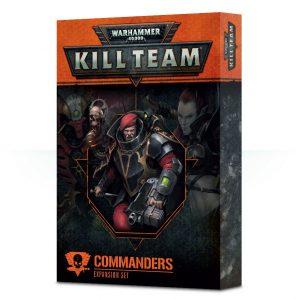 Games Workshop Kill Team  Kill Team Kill Team: Commanders Expansion - 60220699006 - 5011921110056