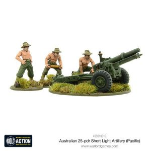 Warlord Games Bolt Action  Australia (BA) Australian short 25-pdr (Pacific) - 403015019 - 5060393707417