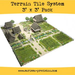 Warlord Games   Sarissa Precision Terrain Tile System Pack - TT01 - 5060572504233