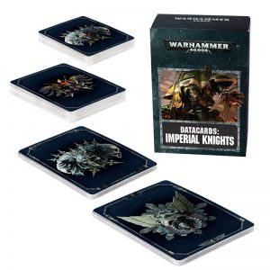 Games Workshop Warhammer 40,000  Imperial Knights Datacards: Imperial Knights - 60220108003 - 5011921101030
