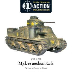 Warlord Games Bolt Action  United States of America (BA) M3 Lee Medium Tank - WGB-AI-124 - 5060200845707