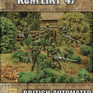 Warlord Games Konflikt '47  British (K47) British Automated Infantry with HMG - 452410601 - 5060393705048