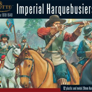 Warlord Games Pike & Shotte  Thirty Years War 1618-1648 Harquebusiers boxed set - WGP-15 - 5060200842089