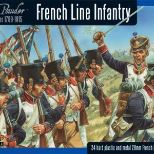 Warlord Games Black Powder  French (Napoleonic) French Line Infantry (24) - WGN-FR-09 - 5060393700432