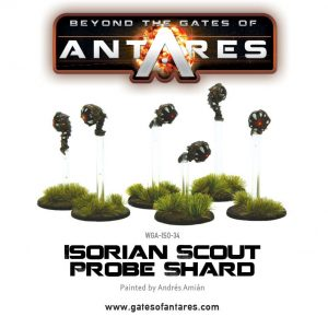 Warlord Games Beyond the Gates of Antares  Isorian Senatex Isorian Scout Probe Shard - WGA-ISO-34 -