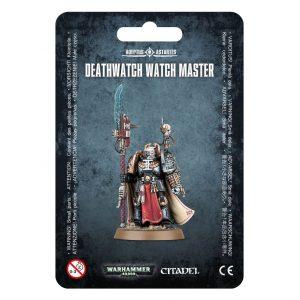 Games Workshop Warhammer 40,000  Deathwatch Deathwatch Watch Master - 99070109008 - 5011921149018