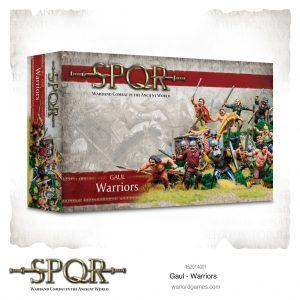 Warlord Games SPQR  SPQR SPQR: Gaul Warriors - 152014001 -