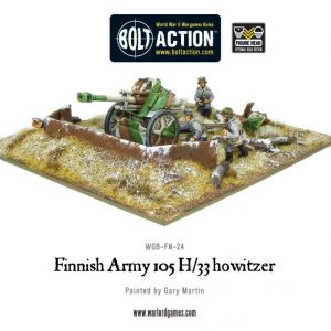Warlord Games Bolt Action  Finland (BA) Finnish 105mm H/33 Howitzer - WGB-FN-24 - 5060393701415