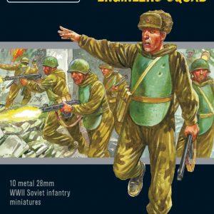 Warlord Games Bolt Action  Soviet Union (BA) Soviet Assault Engineers Squad - 402214003 - 5060572502598
