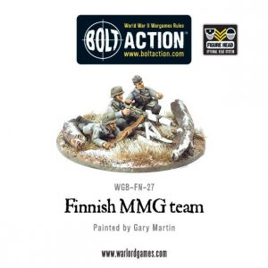 Warlord Games Bolt Action  Finland (BA) Finnish MMG team - WGB-FN-27 - 5060200848838