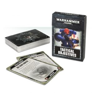 Games Workshop Warhammer 40,000  Warhammer 40000 Essentials Warhammer 40,000: Tactical Objective Cards - 60220199010 - 5011921086931