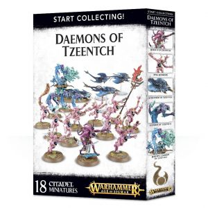 Games Workshop Warhammer 40,000 | Age of Sigmar  Disciples of Tzeentch Start Collecting! Daemons of Tzeentch - 99129915043 - 5011921088584
