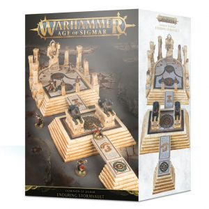 Games Workshop   Age of Sigmar Terrain Dominion of Sigmar: The Enduring Stormvault - 99120299056 - 5011921118489