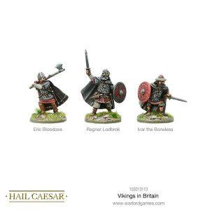 Warlord Games Hail Caesar  The Dark Ages Vikings in Britain - 103013113 -