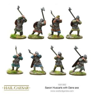 Warlord Games Hail Caesar  The Dark Ages Saxon Huscarls with Dane axe - 103013002 - 5060572500105