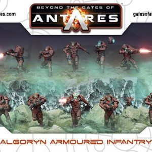 Warlord Games Beyond the Gates of Antares  Algoryn Algoryn Armoured Infantry - 502011001 - 5060393705536