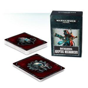 Games Workshop Warhammer 40,000  Adeptus Mechanicus Datacards: Adeptus Mechanicus - 60220116004 - 5011921089369