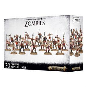 Games Workshop Age of Sigmar  Legions of Nagash Deathwalker Zombies - 99120207051 - 5011921096756